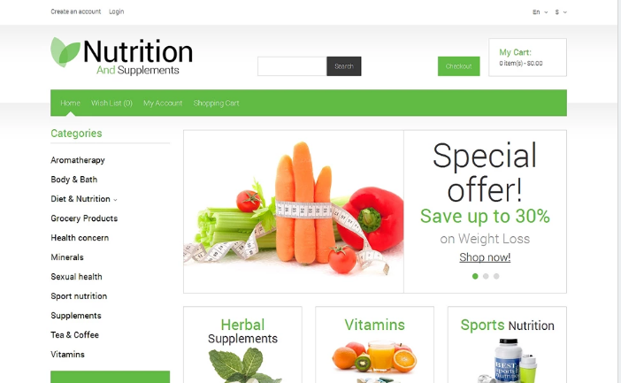 Best OpenCart Health Themes