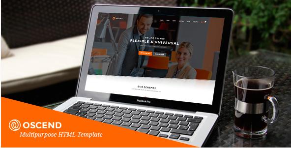 OSCEND - Creative Agency HTML Template