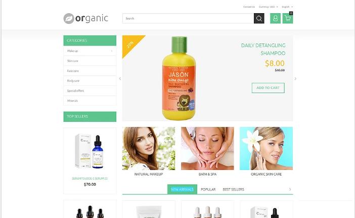 Organic PrestaShop Theme