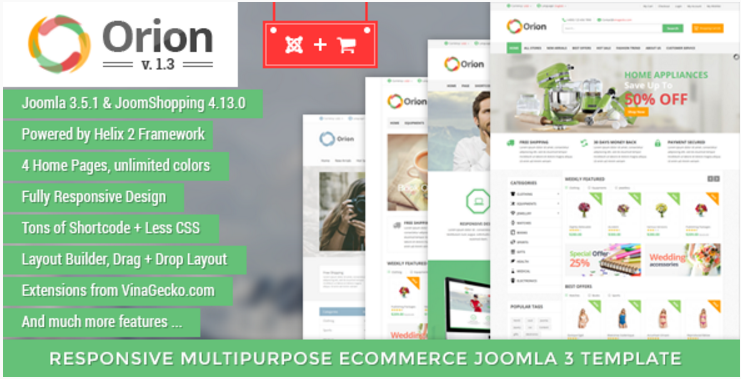 Best Ecommerce Joomla Themes