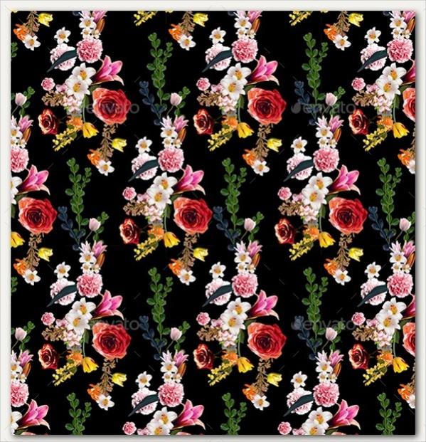 PSD-Vintage-Flower-Background