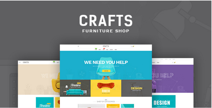 Pav Crafts - Multipurposes Opencart theme for Furniture & Decor