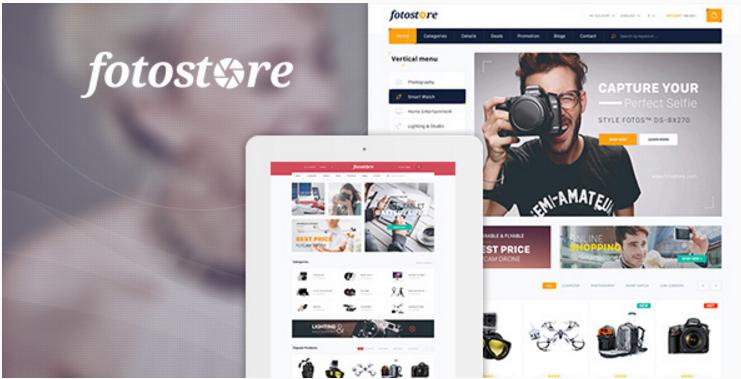 Pav FotoStore - Responsive Opencart Theme