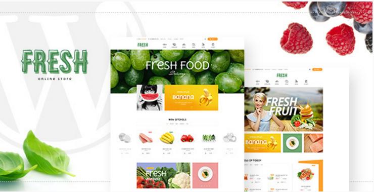 Pav Fresh - Responsive Restaurant & Food Opencart theme