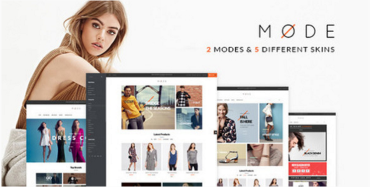 Pav Mode - Modern Fashion Opencart Theme