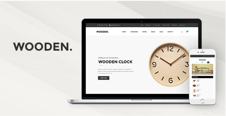 Pav Wooden - Advanced Opencart theme for Furniture