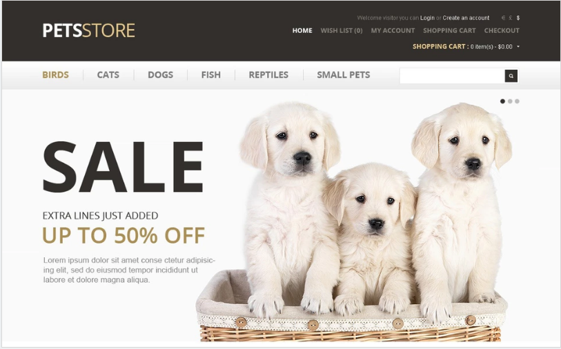 Paws & Tails PrestaShop Theme