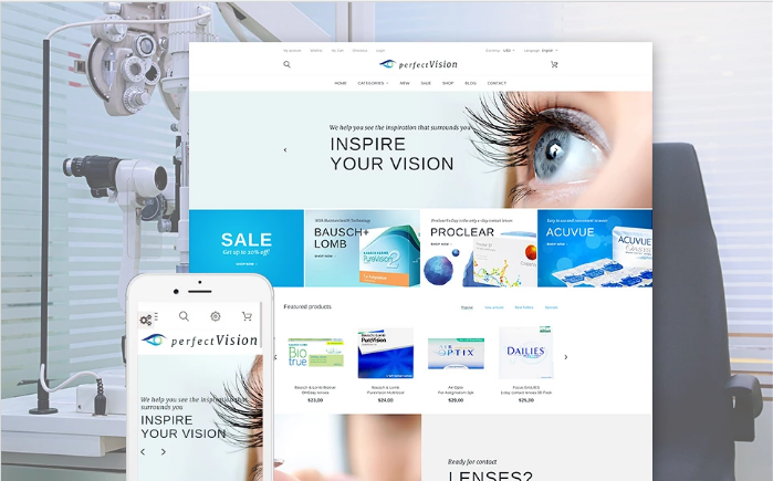 Perfect Vision PrestaShop Theme