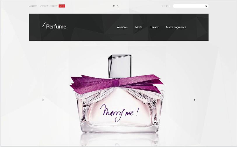 Perfume Magento Theme