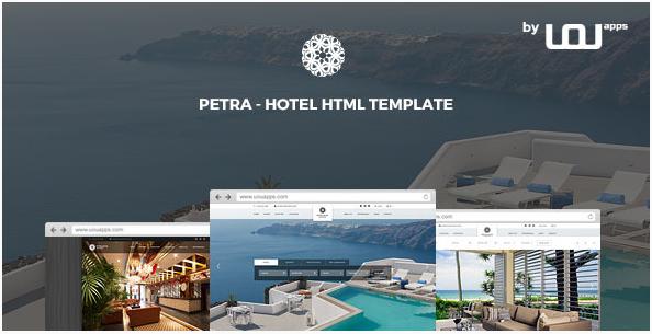 Petra - Hotel, Resort, Bed & Breakfast HTML Template