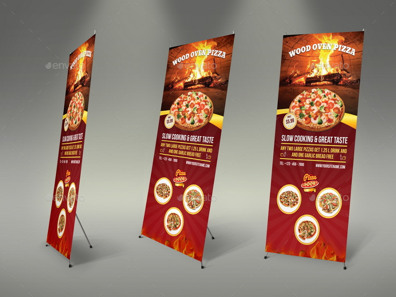 Pizza-Restaurant-Roll-Up-Menu