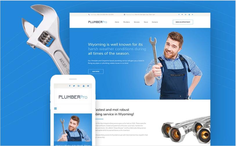 PlumberPro Website Template