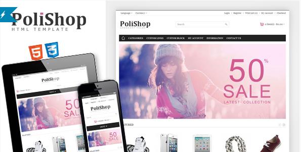 Polishop - Responsive eCommerce Html Template