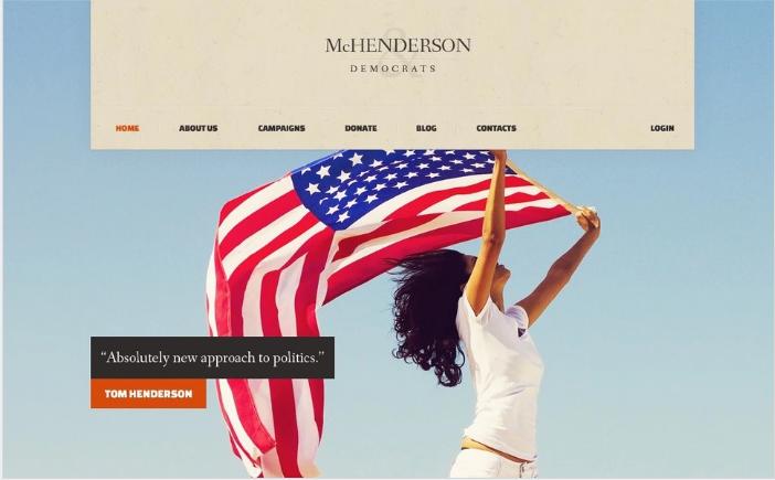 Best Political HTML Website Templates