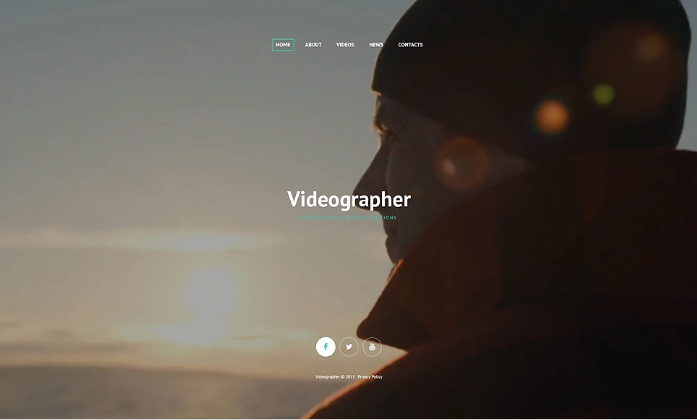 Professional Video Solutions Website Template