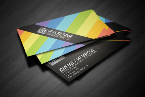 Quick-Response-Business-Card