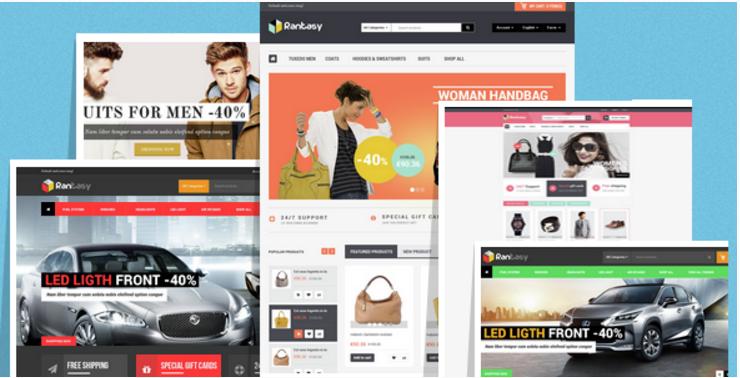 Rantasy - Multipurpose Responsive Opencart Theme