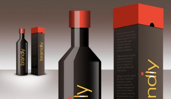 Realistic-Wine-Bottle-Package-Design