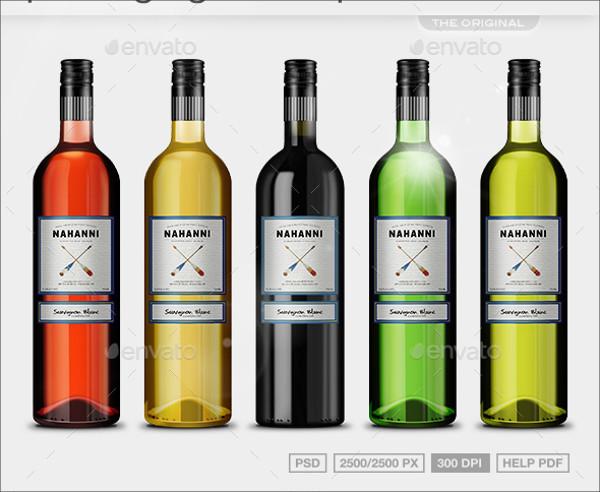 Realistic-Wine-Packaging