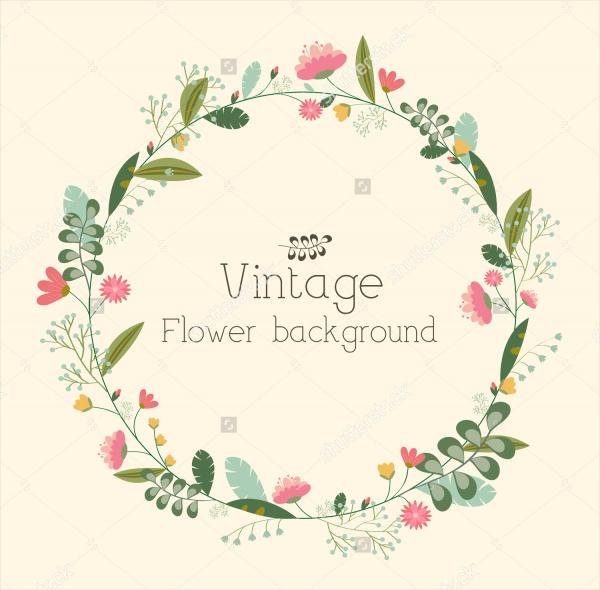 Retro-Flower-Background