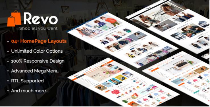 Revo - PrestaShop Shopping Themes