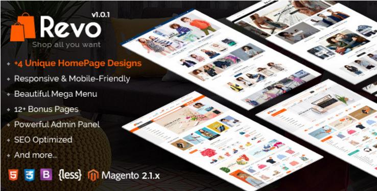 Revo - Responsive Magento 2 Shopping Theme