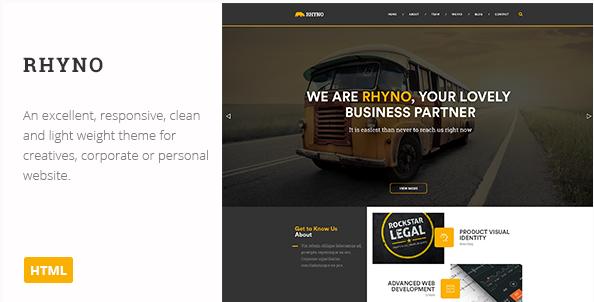 Rhyno Creative HTML Theme