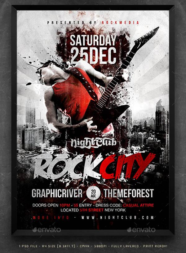 Rock-City-Concert-Poster