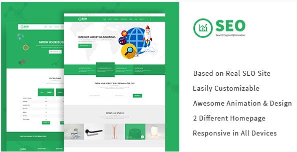 SEO PRO - Search Engine Optimization & Marketing HTML Template