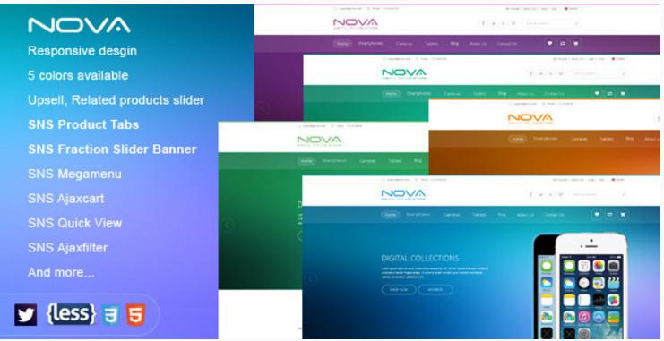 SNS Nova - Responsive Multipurpose Magento Theme