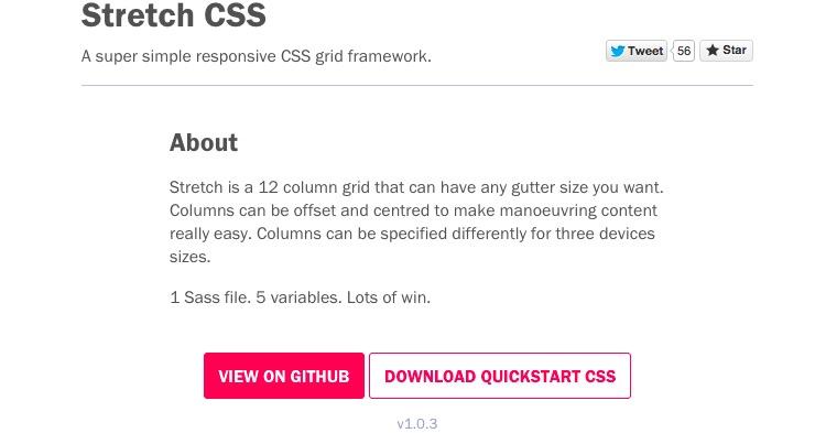 STRETCH CSS