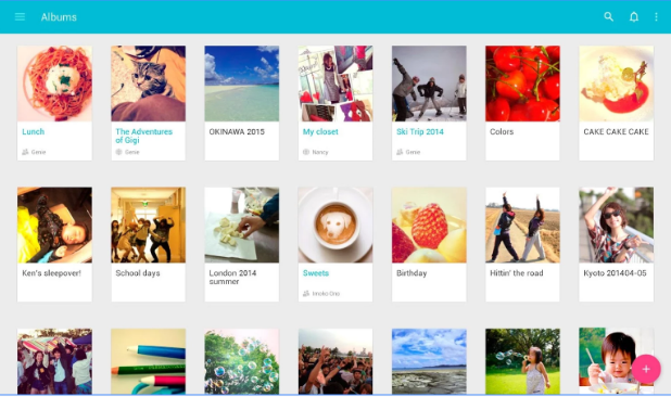 Scene Organize & Share Photos