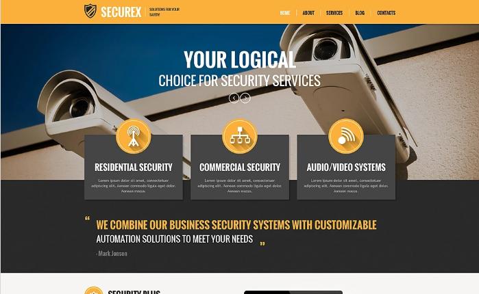 Securex PSD Template