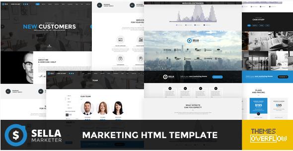 Best Marketing HTML Website Templates
