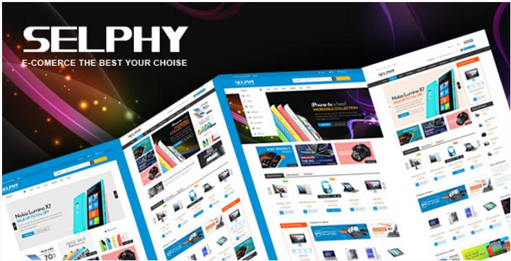 Selphy - Mega Shop Responsive Prestashop Theme
