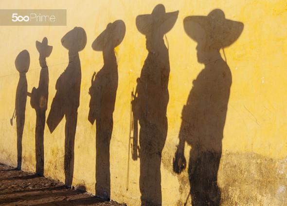 Shadows-of-Mariachi-Band