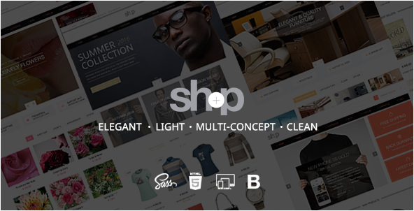 Shop Ecommerce HTML Shop