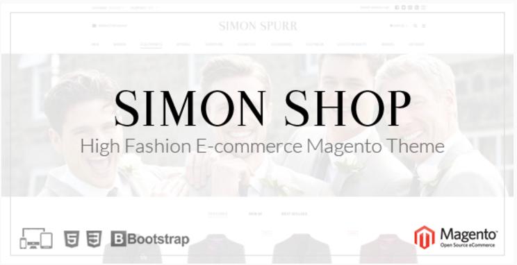 Simon Shop - Responsive Magento Theme
