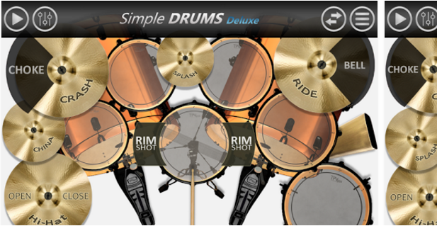 Topmost Free Music Android App - Drum set