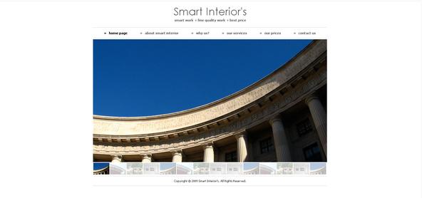 Smart Interiors Interior Design HTML Website Templates