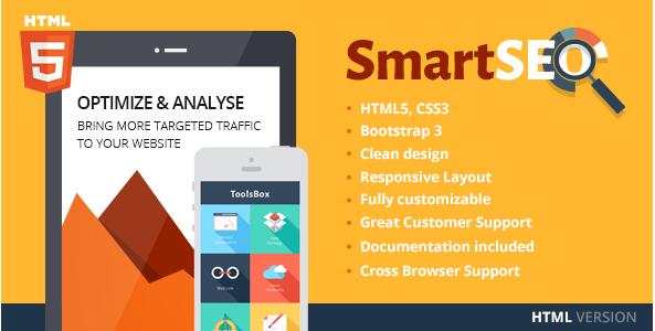 SmartSEO SEO & Marketing HTML Theme