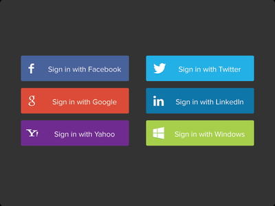 Social-Sign-In-Buttons