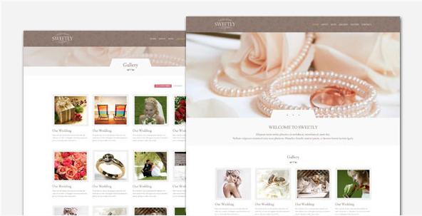 Sweetly - Wedding HTML Template
