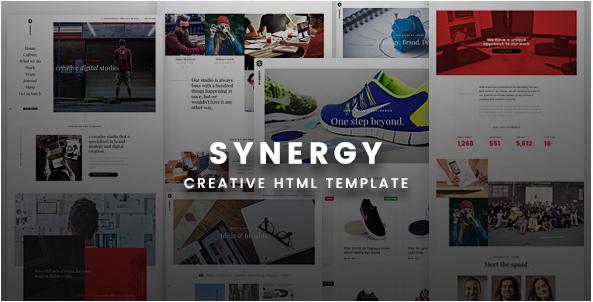 Synergy Creative HTML Template
