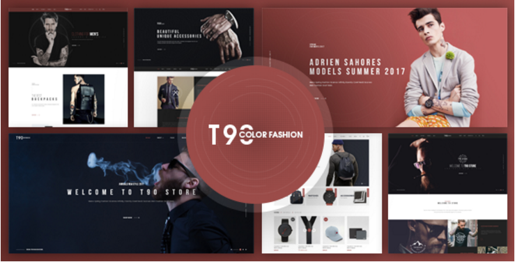 T90 - Fashion Responsive Prestashop Theme