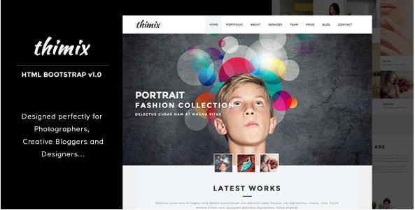 Thimix Creative Photography HTML Template
