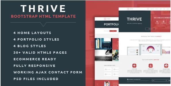 Thrive - Multipurpose Creative HTML Template