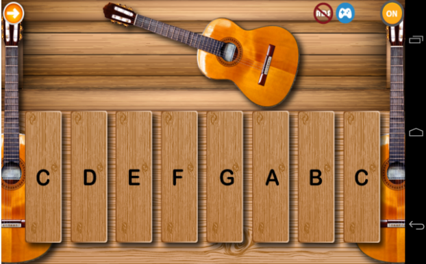 Toddlers Guitar Topmost Free Music Android App