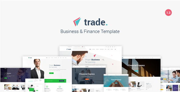 Trade - Business and Finance HTML5 Template