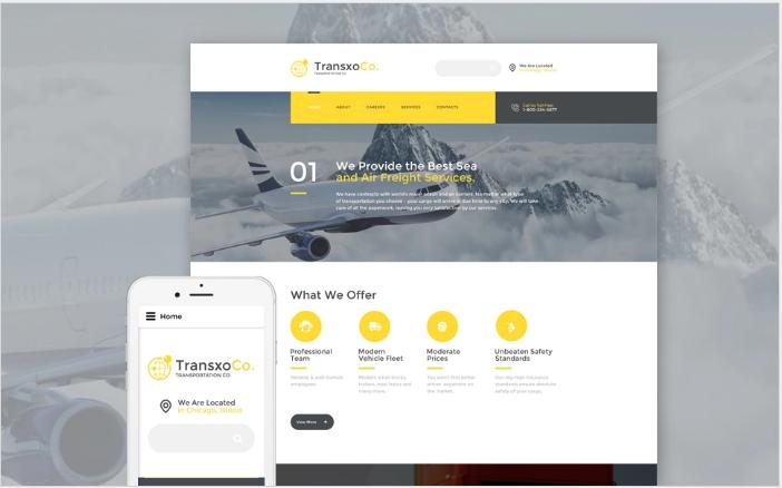 TransxoCo. Website Template